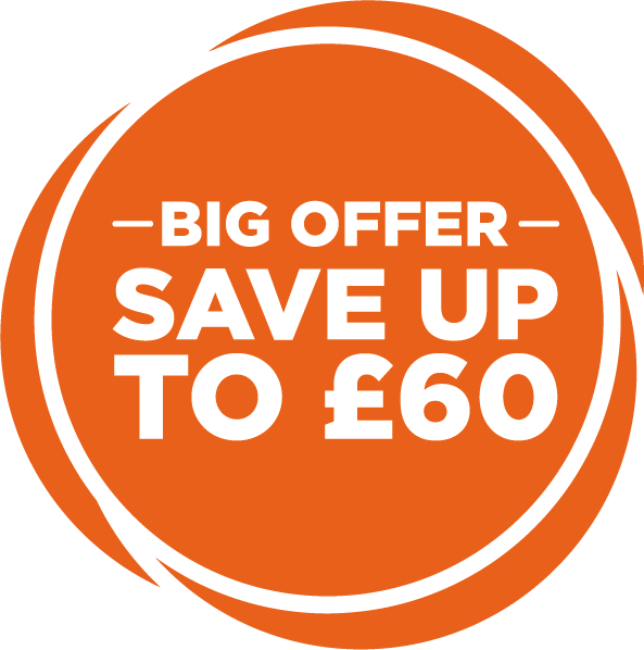 Save up to £60